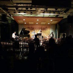 Photo taken at Jazzschool by ceci y. on 10/14/2013