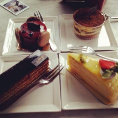 Photo taken at Sam's Patisserie.Boulangerie.Desserts by Ivana O. on 7/24/2013