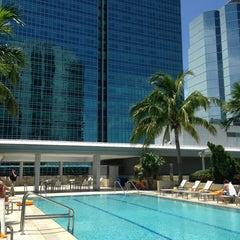 Photo taken at Conrad Miami by Silvia E. on 6/27/2013