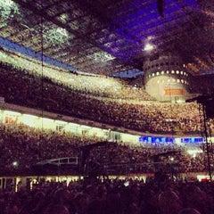 "Photo taken at Stadio San Siro ""Giuseppe Meazza"" by Rudy on 7/21/2013"