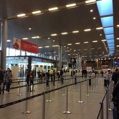 Photo taken at Aeropuerto Internacional El Dorado (BOG) by Iza R. on 6/8/2013