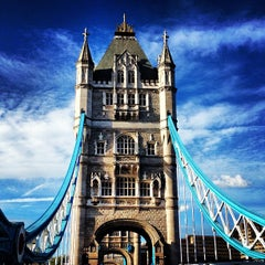 Photo taken at Tower Bridge by Aim To T. on 6/15/2013