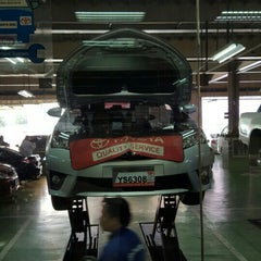 Photo taken at Toyota North Edsa by Martin Jude G. on 10/7/2015