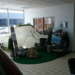 Photo taken at Morrie's Brooklyn Park Nissan Subaru by Chaz C. on 4/27/2013