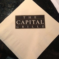 Photo taken at The Capital Grille by James D. on 10/28/2012