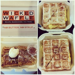 Photo taken at Wicked Waffle by Christina W. on 7/5/2013