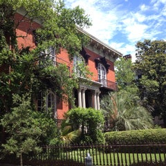 Photo taken at Mercer Williams House by Frank M. on 6/1/2015