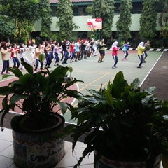 Photo taken at SMAN 61 Jakarta by irene p. on 11/26/2014