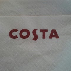 Photo taken at Costa Coffee by Will H. on 2/23/2013