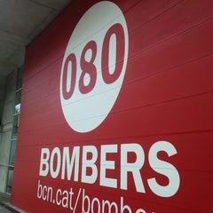Photo taken at Parc de Bombers de Montjuïc by Autoescuela R. on 9/29/2014