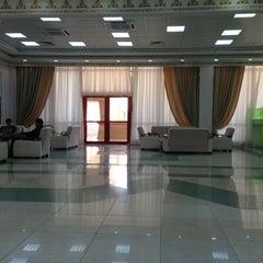 Photo taken at Saparmurat Turkmenbashi International Airport (ASB) by Sanjar A. on 7/1/2013