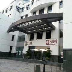 Photo taken at Singapore Institute of Management (SIM) by Rene on 10/7/2012