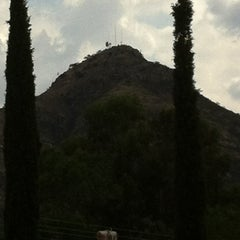 Photo taken at Cerro del Picacho by Hammurabi S. on 6/11/2013