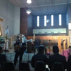 Photo taken at Parroquia Nuestra Señora de San Juan de los Lagos by Armando L. on 5/10/2014