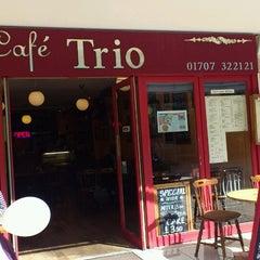 Photo taken at Cafe Trio by Emli on 6/2/2013