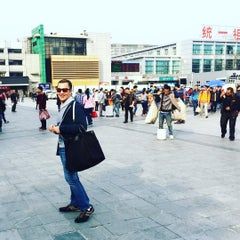 Photo taken at 地铁广州火车站 Metro Guangzhou Railway Station by Chef Z. on 3/26/2016