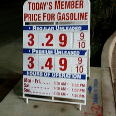 Photo taken at Costco Gas Station by TESDOG23 on 10/17/2014