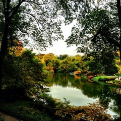 Photo taken at Central Park Duck Pond by @cfnoble on 10/25/2012