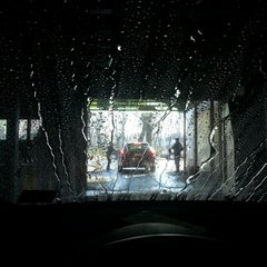 Photo taken at Robin Hood Car Wash by Karen M. on 1/6/2013