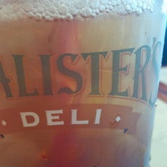Photo taken at McAlister's Deli by Christina G. on 12/23/2014