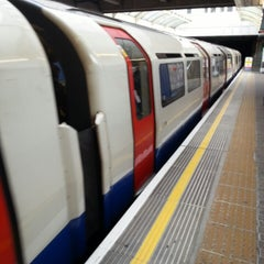 Photo taken at Hammersmith London Underground Station (District and Piccadilly lines) by Flórián G. on 6/16/2013