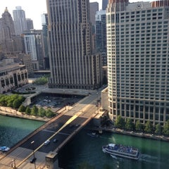 Photo taken at Sheraton Chicago Hotel & Towers by Muneera A. on 6/20/2013