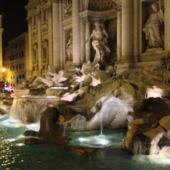 Photo taken at Piazza di Trevi by Nok S. on 7/13/2013