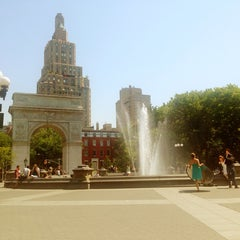 Photo taken at Washington Square Park by Katie L. on 6/21/2013