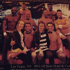 Photo taken at Chippendales Theatre at The Rio Vegas by Simona X. on 11/13/2015