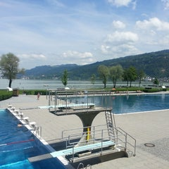 Photo taken at Strandbad Bregenz by Simon M. on 6/5/2013