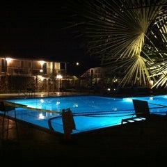 Photo taken at Calistoga Spa Hot Springs by Takashi K. on 1/20/2013