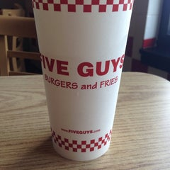 Photo taken at Five Guys by DeFekt on 9/12/2014