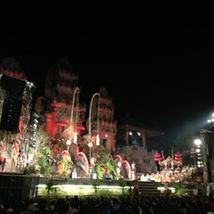Photo taken at Panggung Terbuka Balai Budaya Gianyar by Cadex W. on 4/23/2013