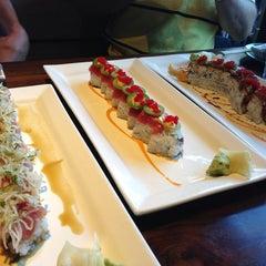 Photo taken at Doraku Sushi by J F. on 7/25/2013