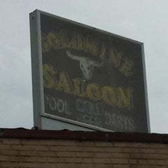 Photo taken at Gold Mine Saloon by Nova P. on 6/28/2013