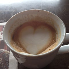 Photo taken at Dilworth Coffee House - The Original by Patrick R. on 7/27/2014