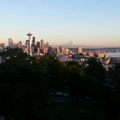 Photo taken at Kerry Park by Christopher B. on 9/20/2013