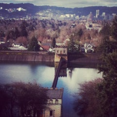 Photo taken at Mt. Tabor Park by Amanda W. on 2/7/2013