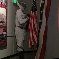 Photo taken at Babe Ruth Birthplace & Museum by Ashley C. on 9/11/2015