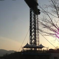 Photo taken at 율동공원 (Yuldong Park) by VIA on 3/23/2013