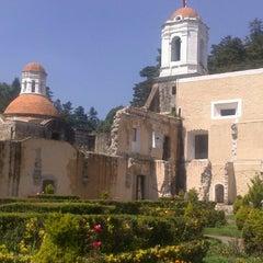 Photo taken at Ex Convento del Desierto de los Leones by Ariadna E. on 10/8/2013