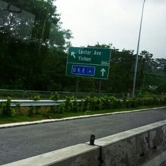 Photo taken at Seletar Flyover by Piggie C. on 12/30/2013