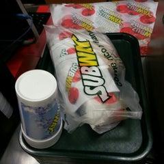 Photo taken at Subway by Matias I. on 10/12/2012