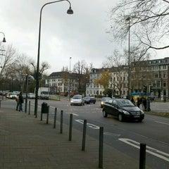Photo taken at H Hansemannplatz by Tobias on 11/29/2012