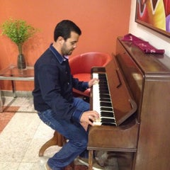Photo taken at Villa Vergueiro Hotel by Ricardo L. on 4/13/2014