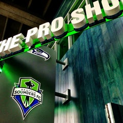 Photo taken at The Pro Shop at CenturyLink Field by Max G. on 6/7/2013