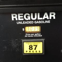 Photo taken at Costco Gasoline by James M. on 12/10/2013