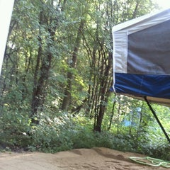 Photo taken at Baraboo Hills Campground by Lori K. on 7/4/2013