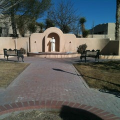 Photo taken at Presidio, TX by Carolyn M. on 1/23/2013