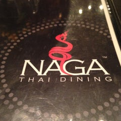 Photo taken at Naga Thai Dinning by Dave on 5/4/2013